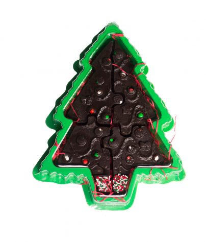 Chocolate Tree Puzzle in Tree Box_AC-0927