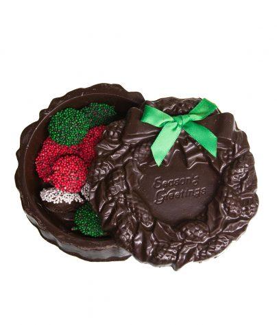 Dark Christmas Wreath BoxAC-0872-EX